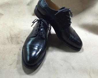 Brogue Derby shoes,goodyear welted handmade shoes