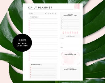 Daily And Weekly Printable Planner Pages