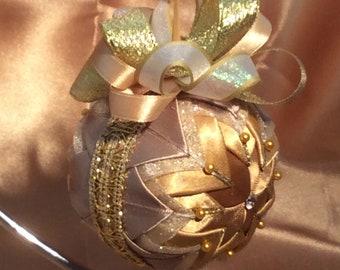 Keepsake ornament for weddings anniversary birthday Christmas