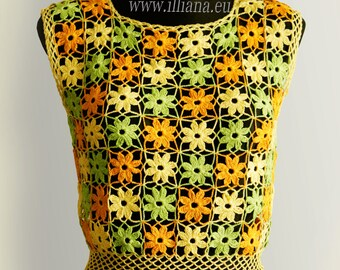 Crochet Patern . Blouse No 235