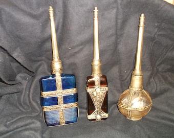 VIntage perfume bottles set of 3
