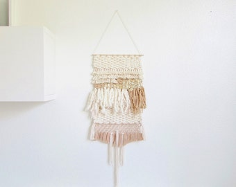 Weaving wall hanging/ handmade wall hanging art tapestry/boho decor