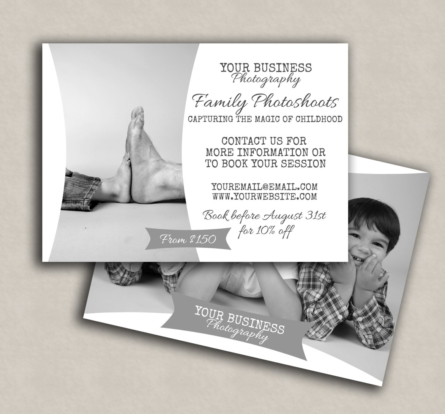 Photography Marketing Template, modern templates, Promotional family ...