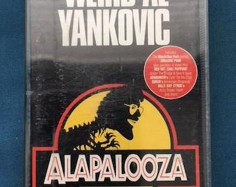 Weird Al Yankovic Alapalooza Cassette tape