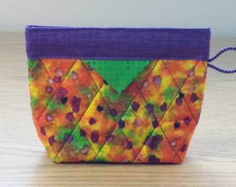 Quilted Snap Bag (SB809)