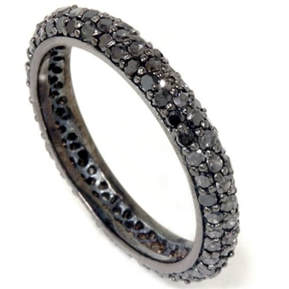 s band black diamond eternity bands mens men