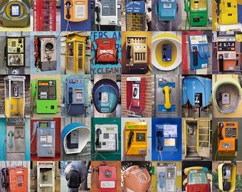 TELEPHONES Fine Art Travel Photography Print 11 x 14 Inches