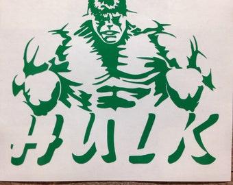 Incredible Hulk Marvel Comics Vinyl Decal