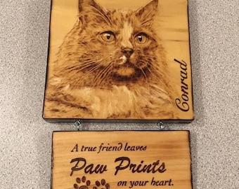 Custom Woodburning Pet