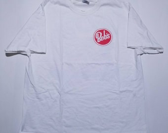 Bob's Big Boy California Burger Restaurant White T Shirt XL