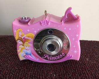 Princess Toy Camera Recycled Christmas  Ornament