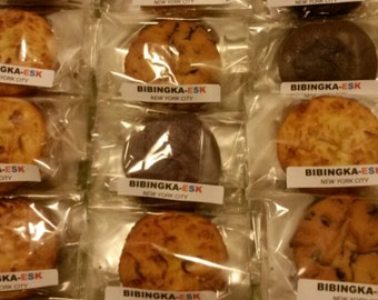 Bingky 6 Pack - (6 bibingkas in assorted flavors) Gluten-Free Filipino Pastries