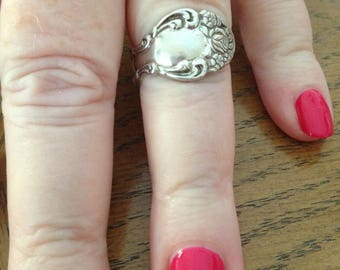 Sterling Silver Spoon Ring