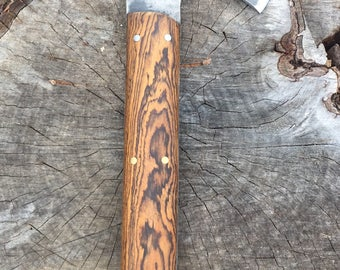 hatchet with bocote handle