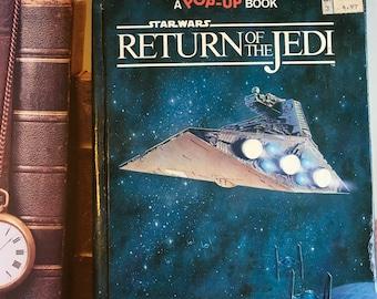 Vintage Return of the Jedi Pop Up Book