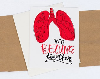 Greeting Card: Belung Together