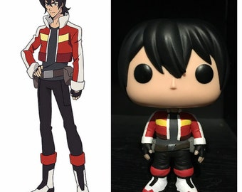 """Custom Funko Pop: Keith from """"Voltron"""""""