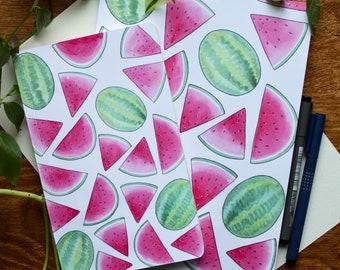 Watermelon Blank Notebook, Journal or Sketchbook