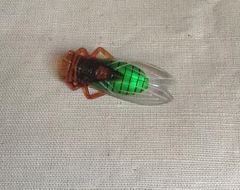 """30's """"cicada"""" brooch"""