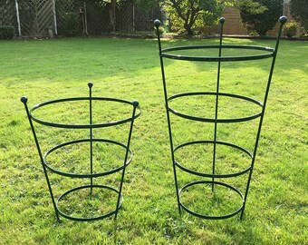 Plastic Coated Peony Cage - Plant Support - In 2 sizes