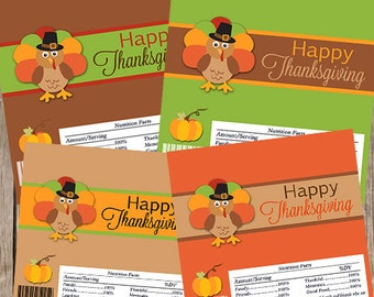 Thanksgiving Candy Wrappers,Thanksgiving Chocolate, Thanksgiving Candy Bar Wrapper, INSTANT DOWNLOAD