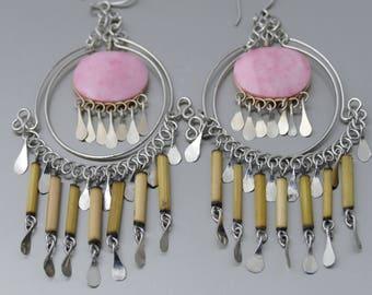 Ethnic Earrings Tribal Earrings Boho Earrings Dangle Earrings Gypsy Earrings bohemian earrings boho jewelry gift for her earrings Ethnic