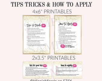 Senegence Tips and Tricks, LipSense How To Apply, LipSense Tips and Tricks, Application Instructions,  Gold Confetti, Pink lips, DIGITAL
