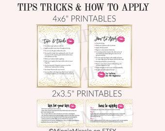 Senegence Tips and Tricks, LipSense How To Apply, LipSense Tips and Tricks, Application Instructions,  Gold Confetti, Pink lips, DIGITAL