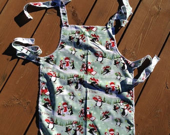 Apron, Children's Apron, Chef's Apron, Christmas Apron, Cotton Apron