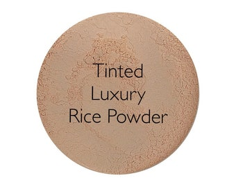Tinted Luxury Rice Powder Setting Powder Mineral Veil Best Seller!