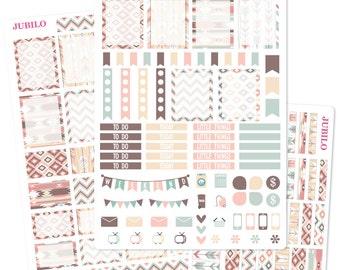 Planner Stickers - Weekly Kit - Tribal