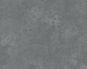Quilting Temptations Steel Grey Blender 22542K from Quilting Treasures by the yard