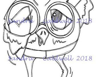 2052 Love Bird Digi Stamp
