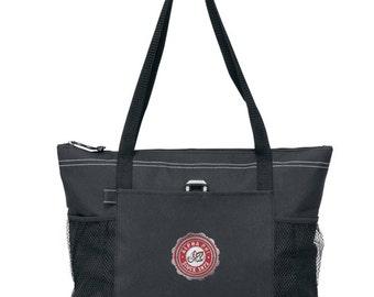 Alpha Phi Venture Emblem Tote Bag