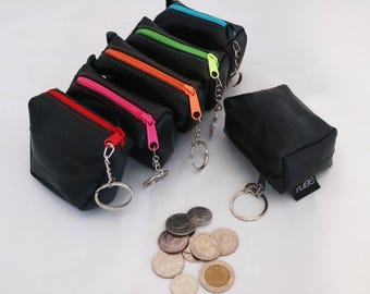 Buy 1 get 1 free !! Gitta coin purse made from bicycle inner tubes. Gifts for your friends, Buy one get one free !!