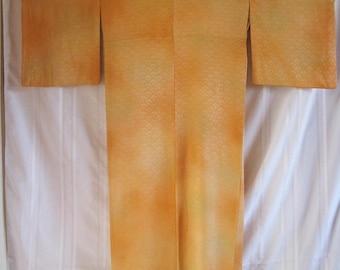 Vintage SILK Kimono#54