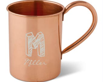 Personalized 16 oz. Classic Moscow Mule Mug - Gifts for Her - Gifts for Him - Bridesmaids Gifts - Groomsmen Gifts - Best Man - gc1575