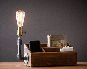 DESK ORGANIZER LAMP