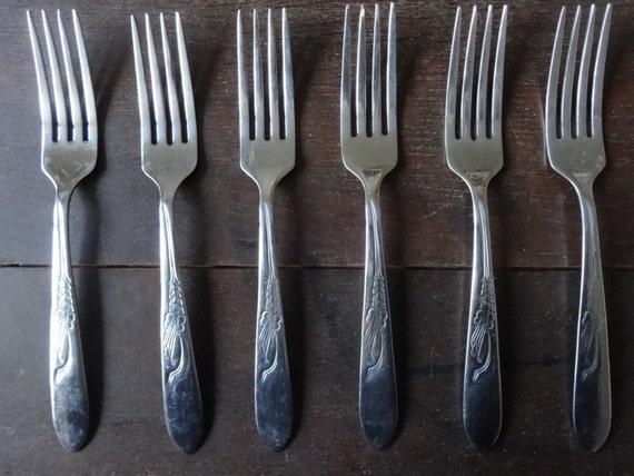 articles similaires en acier inoxydable anglais vintage empire d ner manger fourchette. Black Bedroom Furniture Sets. Home Design Ideas