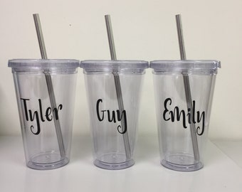 Personalized Tumbler Cup - Name