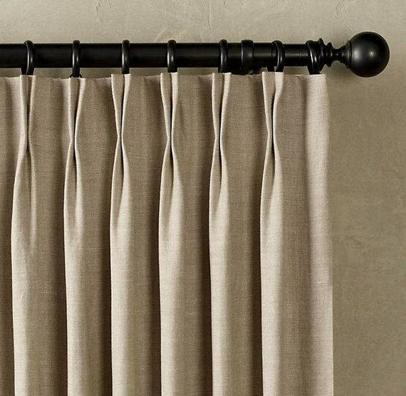 Pleated Window Curtains Pinch Pleated Drapes Pleated