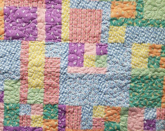 1930's Reproduction Baby Quilt