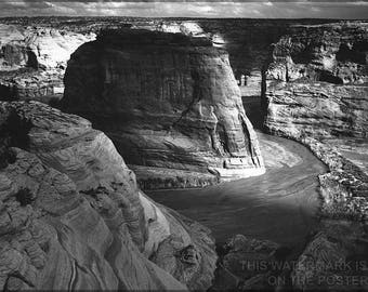 Poster, Many Sizes Available; Canyon De Chelly,  Ansel Adams