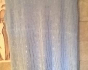 Vtg Salvatore Ferragamo womens silk light blue top China
