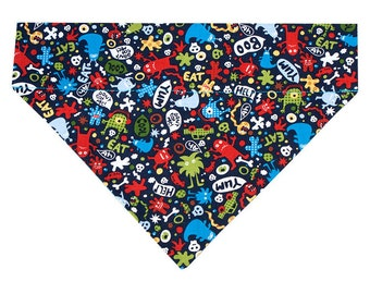 Monster Dog Bandana Scarf
