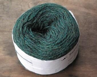 JaggerSpun 2/8 Sylvan Green Heather Wool Yarn