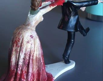 Zombie Cake Topper