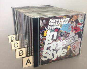 CD Dividers - High Quality Birch Plywood  - 26 piece set - Laser cut