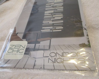 """Paper Pattern for a Quilt called London Nights by Zen Chic for Moda 51"""" x 81"""""""