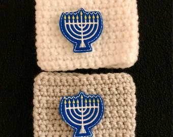 Menorah Coffee Cozy